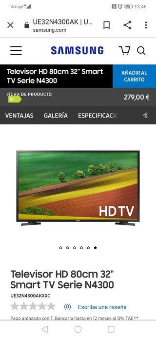 Televisor Samsung 32 N4300