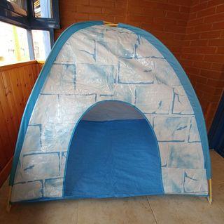 Tienda de campaña / casita de juguete iglu