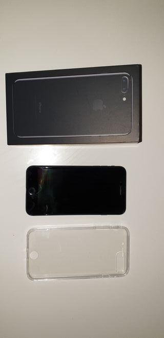 iphone 7 plus negro mate. 128 gb