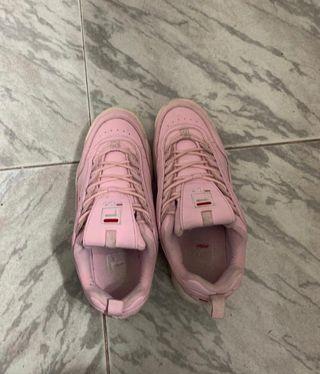 Bambas fila rosa
