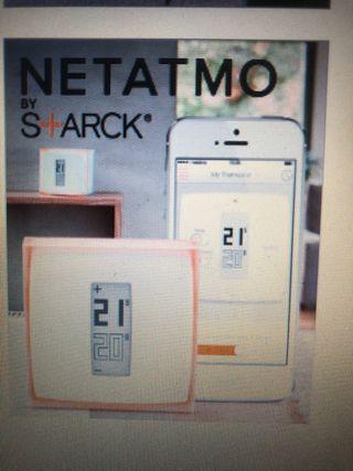 Termostato Netatmo S+ Arck. Compatible con Apple