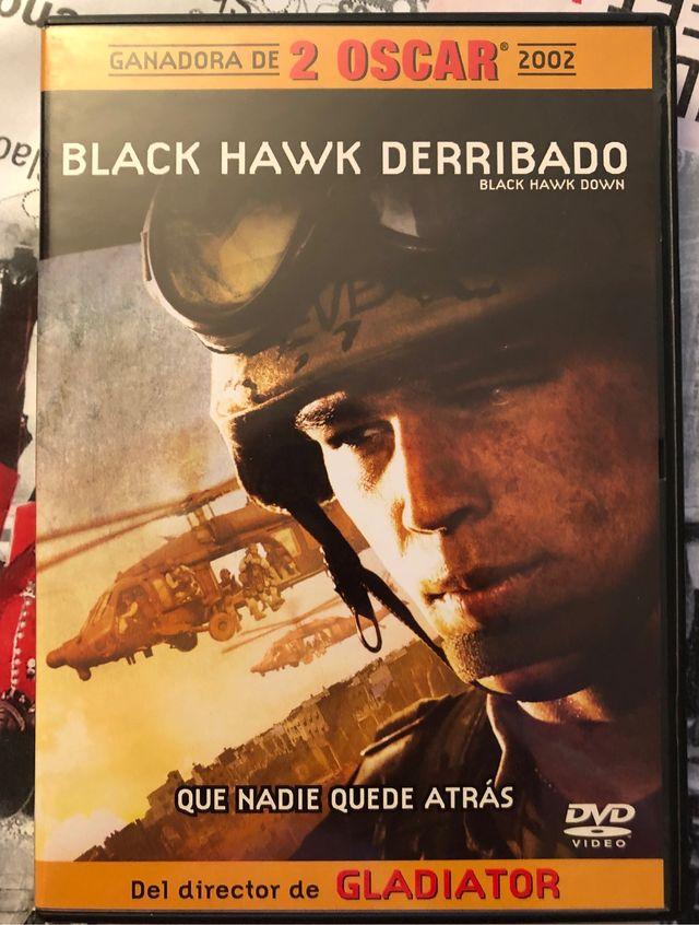 Pelicula Black Hawk Derribado