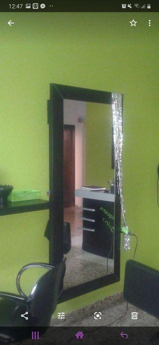 tocador espejos de peluqueria