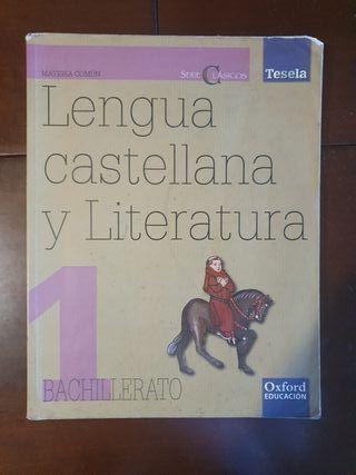 Lengua Castellana 1 Bachillerato Anaya libro texto