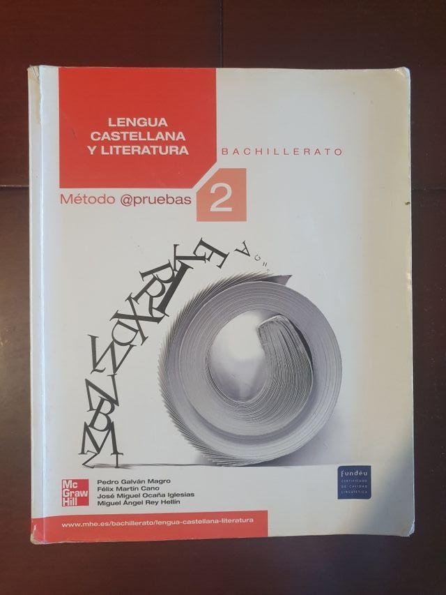 Libro texto Lengua Castellana 2 Bachillerato