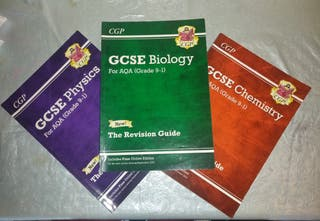 CGP AQA GCSE Sciences Revision Guides (9-1)