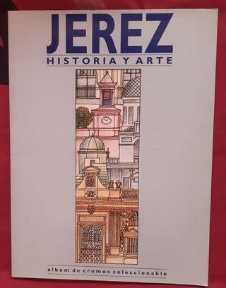 """ALBUM DE CROMOS """"JEREZ, HISTORIA Y ARTE"""""""