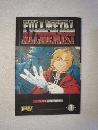 Cómics book Fullmetall Alchemist no.1 y 2