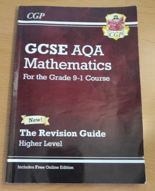 CGP GCSE Maths AQA Revision Guide 9-1 Higher