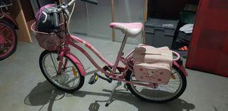 bicicleta para niña .