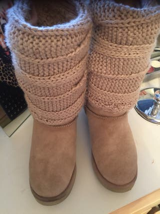 Botas MOU lana y piel