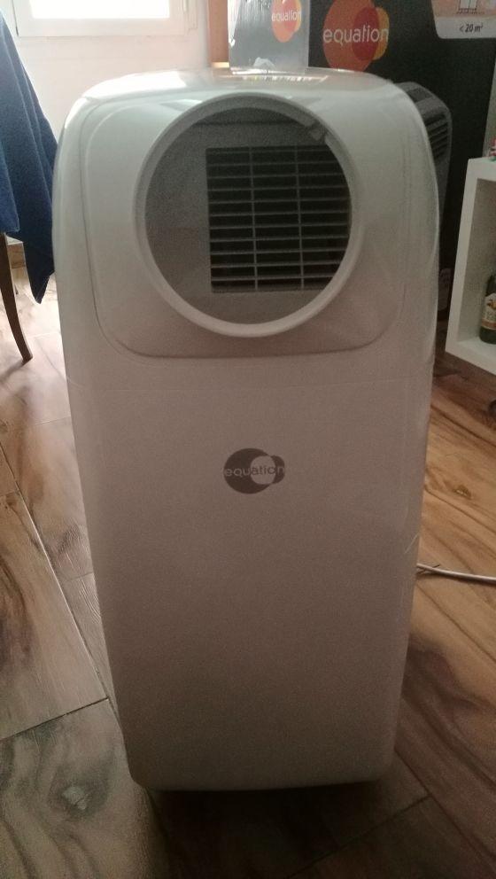 acondicionador de aire local portátil