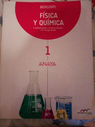 libro física y química segundo de bachillerato