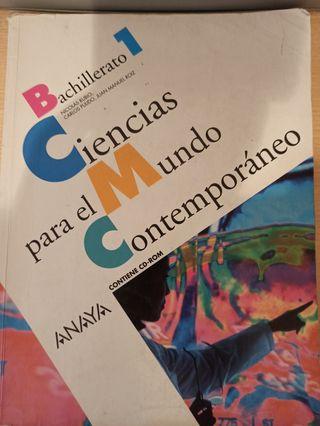 libro ciencias para el mundo contemporáneo, Anaya