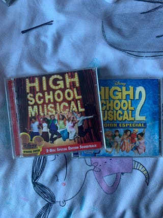 Pack 2 bandas sonoras High School Musical