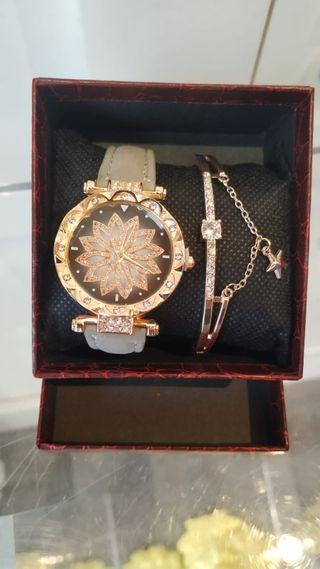 Reloj mujer con pulsera, reloj chica nuevo