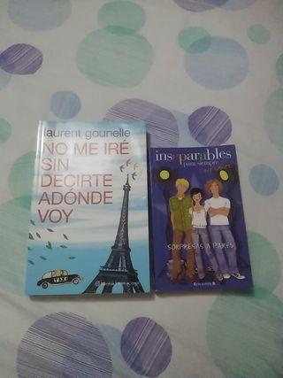 Pack de libros juveniles