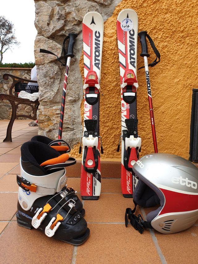 Equipo esquí niño
