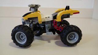 Lego creator Turbo Quad 31022. 100% completo