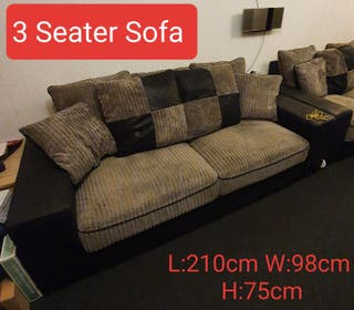 3 seater Bluetooth sofa (PICK UP ONLY)