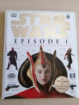 Star Wars libro diccionario visual 1. Episodio 1.