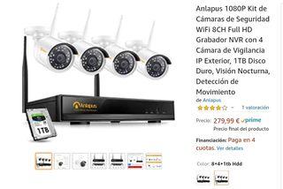Sistema completo videovigilancia NUEVO