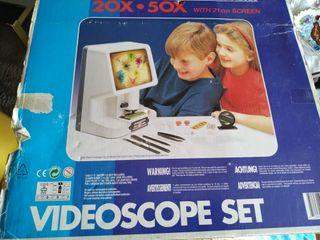 microscopio video