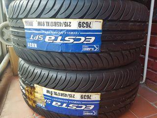 Neumáticos nuevos Kumho Ecsta 215/45 R17 XL 91W