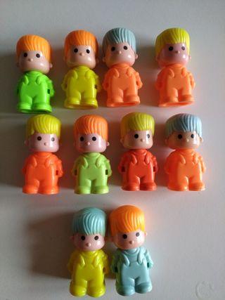 lote 10 muñecos