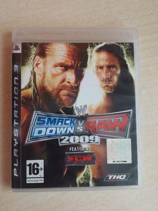 SmackDown vs RAW 2009 (PS3)