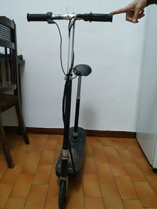 electric scooter / monopatín eléctrico