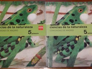 libros ciencias de la naturaleza 5 primaría