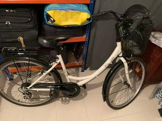 Bicicleta de paseo City 40 con cesta
