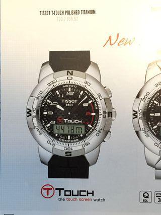 Reloj Tissot T-Touch Titanio / Fibra de carbono
