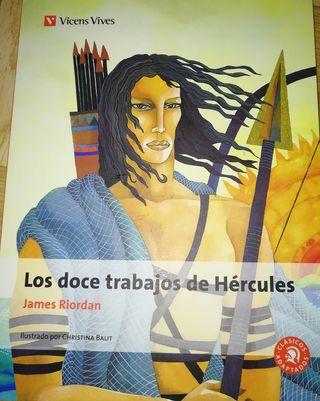 Libro Los doce trabajos de Hercules. Vicens Vives