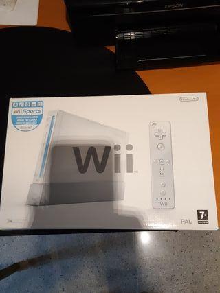 Wii con todos los accesorios de origen