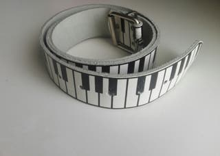 cinturón teclas de piano