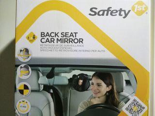 Espejo vigila bebés para asiento coche
