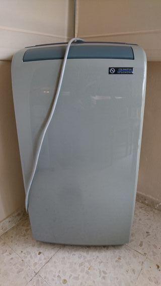 Aparato de aire acondicionado portátil.