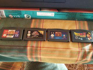 Se venden juegos de Gameboy Advance
