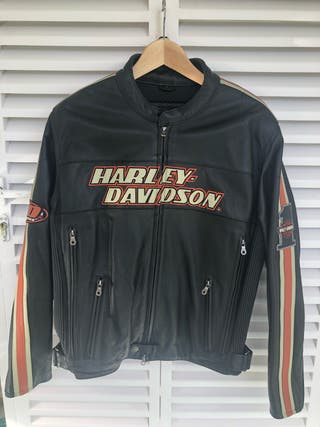 Cazadora cuero Harley Davidson original