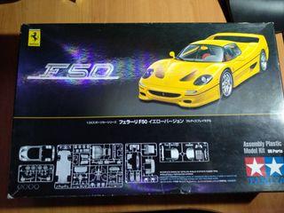 Maqueta Ferrari F50