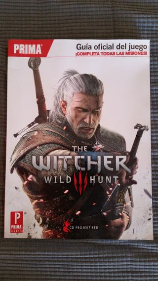 Guia oficial Prima the witcher 3 wild hunt