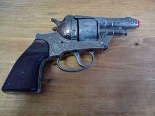 juguete antiguo revolver