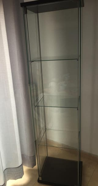 Vitrina cristal Ikea Detolf
