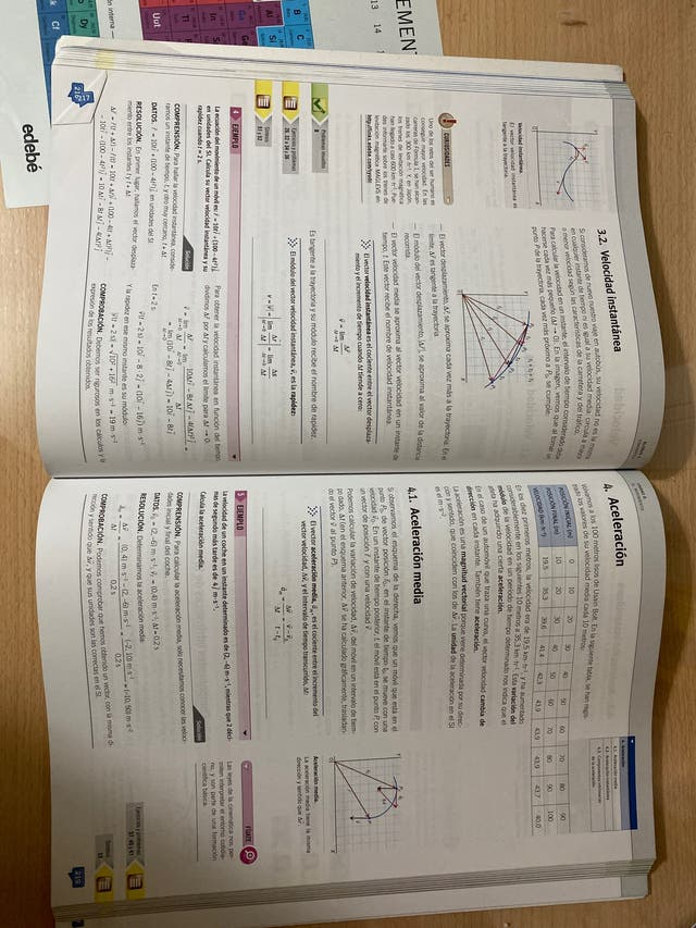 Libro física y química 1º de bachillerato edebé