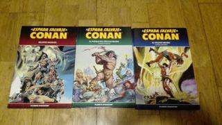 Cómic, La Espada Salvaje de Conan 1, 2 y 6