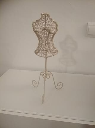 Maniquí alambre soporte joyero para colgar joyas.