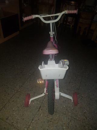 bici de nina semi nuevo