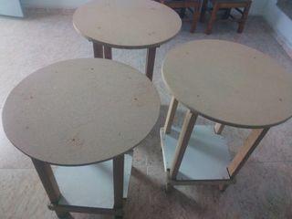 mesa estufa madera